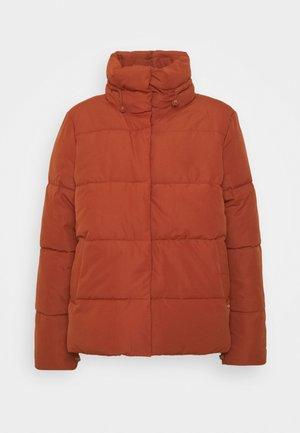 Zimní bunda - rust orange
