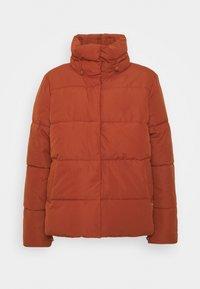 Winter jacket - rust orange