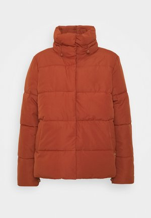 Winter jacket - rust orange