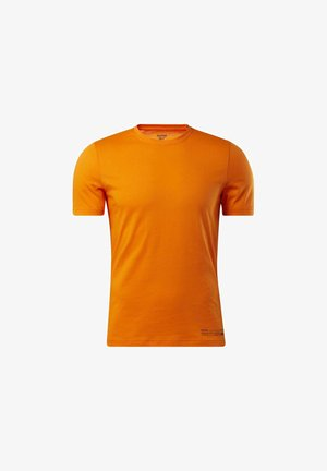 EDGEWORKS GRAPHIC T-SHIRT - Sports shirt - orange