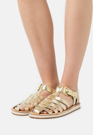 FRANCES - Sandaalit nilkkaremmillä - gelb