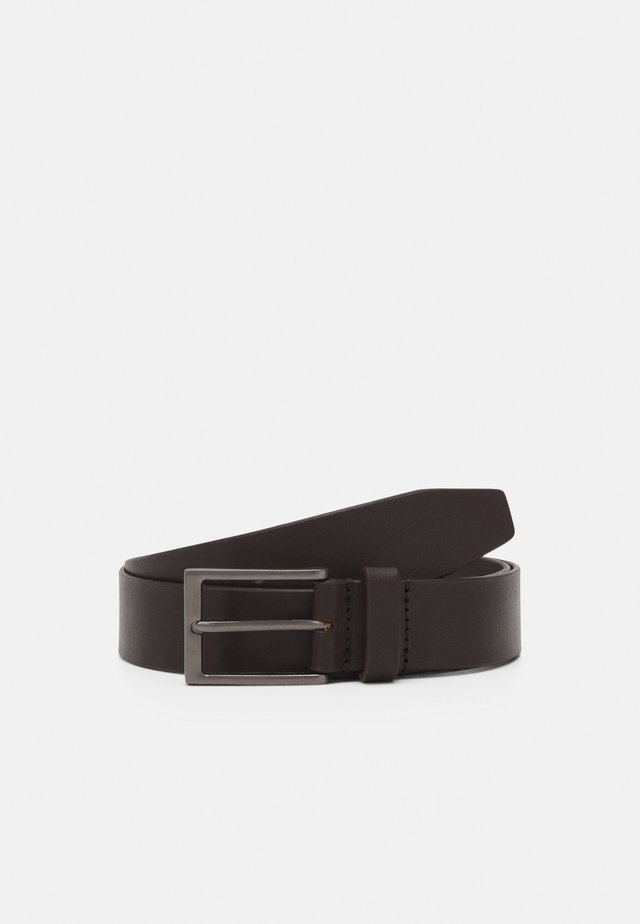 LEATHER - Ceinture - brown