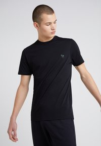 PS Paul Smith - SLIM FIT - Basic T-shirt - black - 0