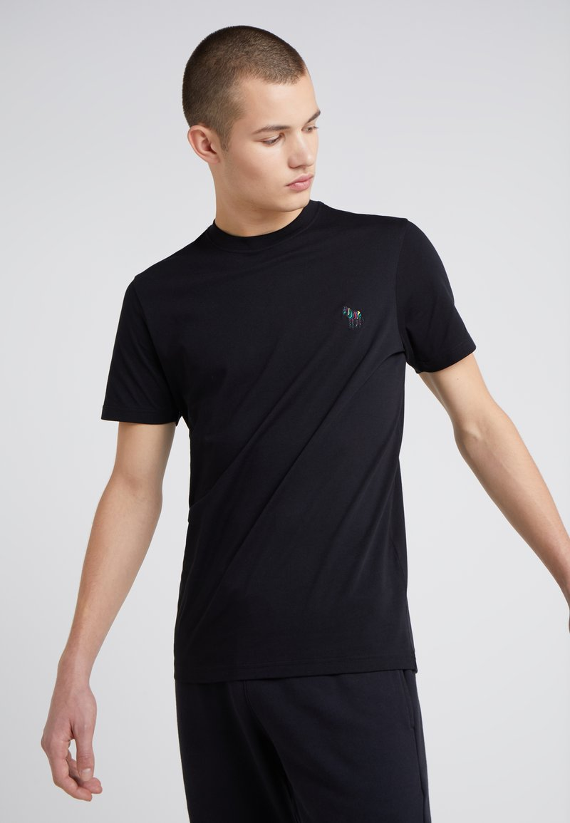 PS Paul Smith - SLIM FIT - Basic T-shirt - black