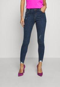 Dorothy Perkins - NIBBLE DARCY - Jeans Skinny Fit - indigo - 0