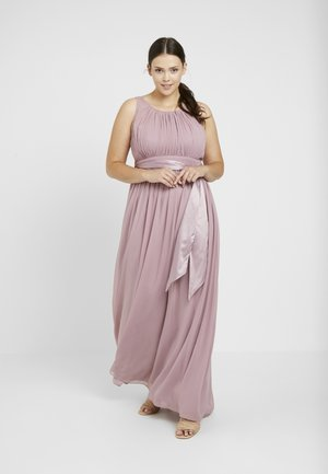 NATALIE DRESS - Gallakjole - dark rose