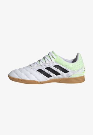 COPA IN SALA - Indoor football boots - white/green