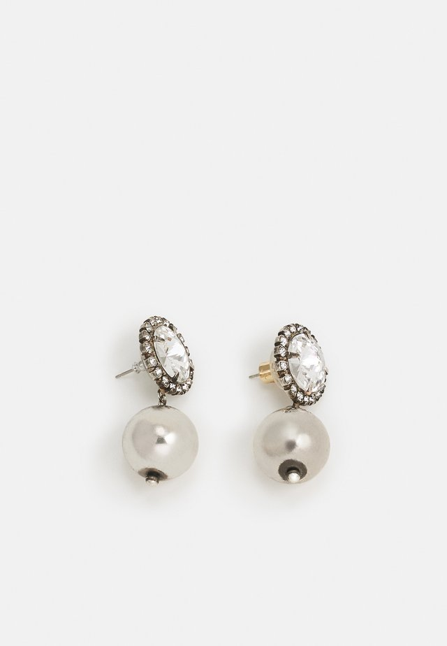 LEO - Earrings - silver-coloured