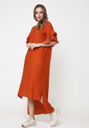 SATINESSA - Maxi dress - ingwer