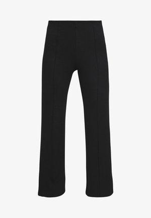 GENEVIEVE PANTS - Trousers - black