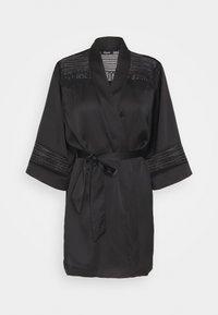 KARMA DESHABILLE - Dressing gown - noir