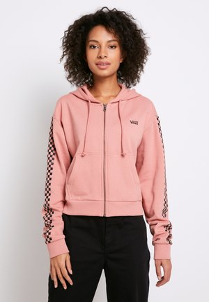 FUNNIER TIMES  - Zip-up hoodie - rose dawn