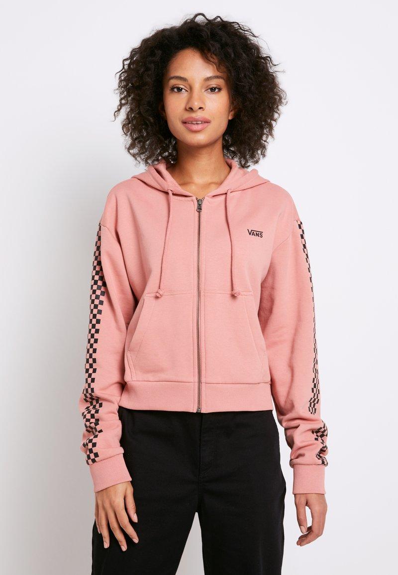 Vans - FUNNIER TIMES  - Zip-up hoodie - rose dawn