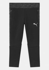 Puma - EVOSTRIPE UNISEX - Teplákové kalhoty - puma black - 0