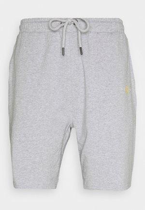 DUAL LOGO - Shorts - grey marl