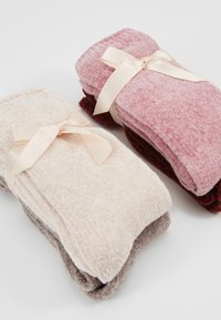 camano - CHINILLE SOCKS 4 PACK - Ponožky - bordeaux - 2