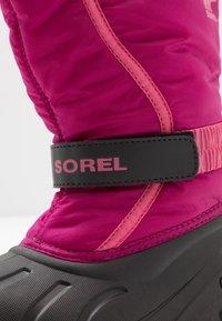 Sorel - YOUTH FLURRY - Snowboot/Winterstiefel - deep blush/tropic pink - 2