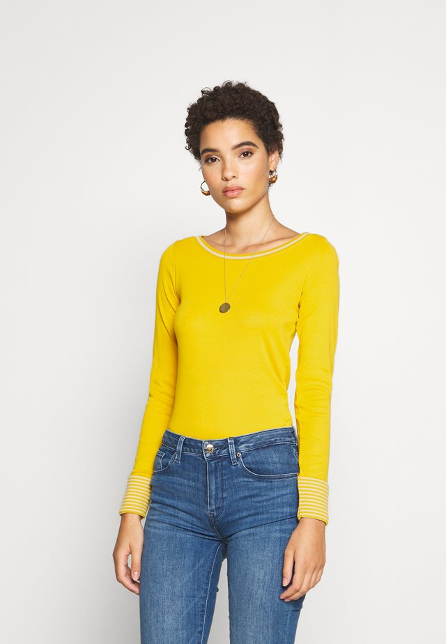 CORE - Long sleeved top - brass yellow