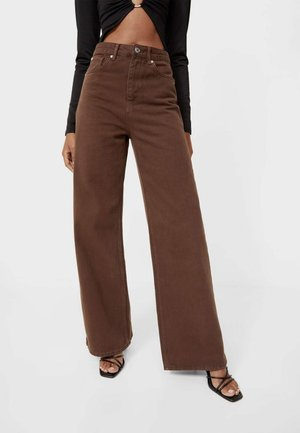 Jeans relaxed fit - brown