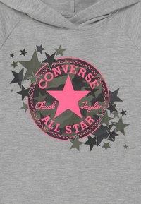 Converse - CAMO STAR HOODIE - Sweat à capuche - grey heather - 3