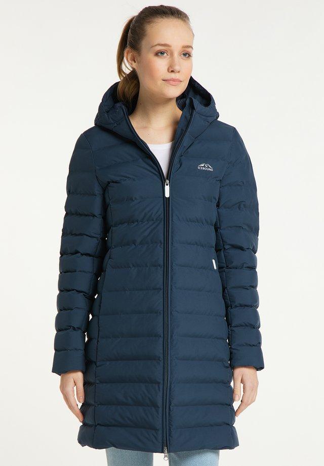 Abrigo de invierno - marine