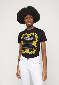 Versace Jeans Couture - LADY - Print T-shirt - black - 0