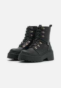 RAID - JACKSON - Lace-up ankle boots - black - 2