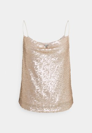 DRAPED - Top - champagne