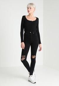 Dr.Denim - MOXY - Jeans Skinny Fit - black - 1