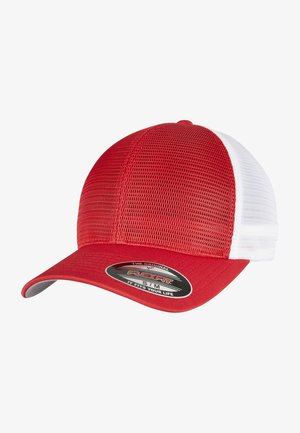 OMNIMESH 2-TONE - Cap - red/white