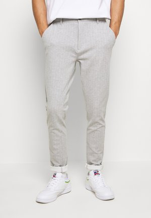 PONTE ROMA PLAIN - Trousers - grey