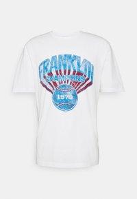 Franklin & Marshall - T-shirt med print - off white - 0