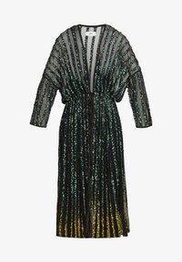 MANÉ - CETO DRAWSTRING - Summer jacket - washed black/emerald - 6
