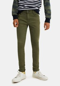 WE Fashion - Jeans Skinny Fit - army green - 1
