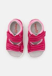 Superfit - FLOW - Sandals - rot/rosa - 3