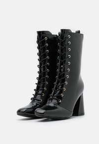Glamorous - Lace-up ankle boots - black - 2