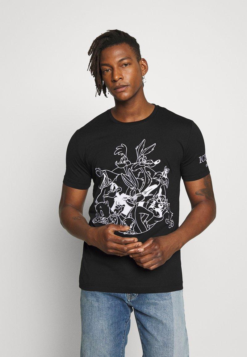 Iceberg - T-shirt imprimé - black