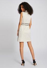 Morgan - Robe chemise - beige - 2