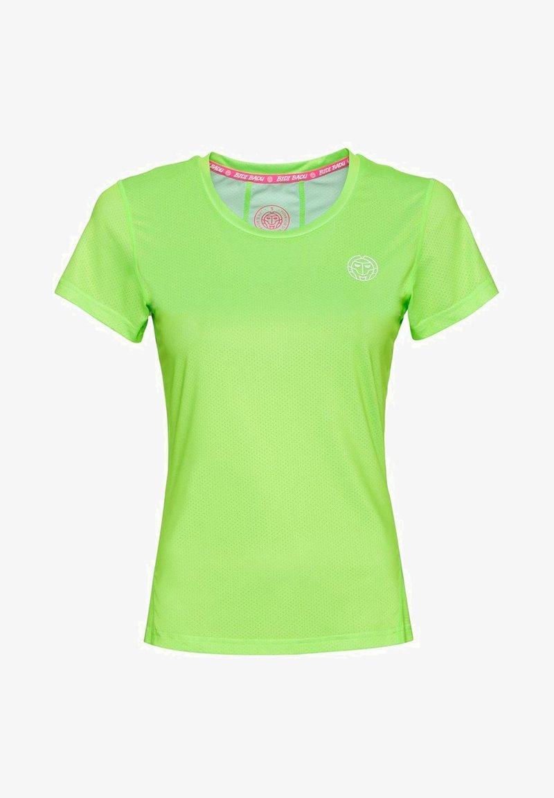 BIDI BADU - Basic T-shirt - neon green