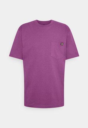 PORTERDALE POCKET TEE - Basic T-shirt - purple gumdrop