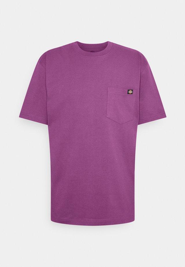 PORTERDALE POCKET TEE - T-shirt basic - purple gumdrop