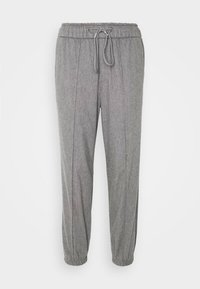 Gap Tall - WARM JOGGER DRAWSTRING - Tracksuit bottoms - grey heather - 3