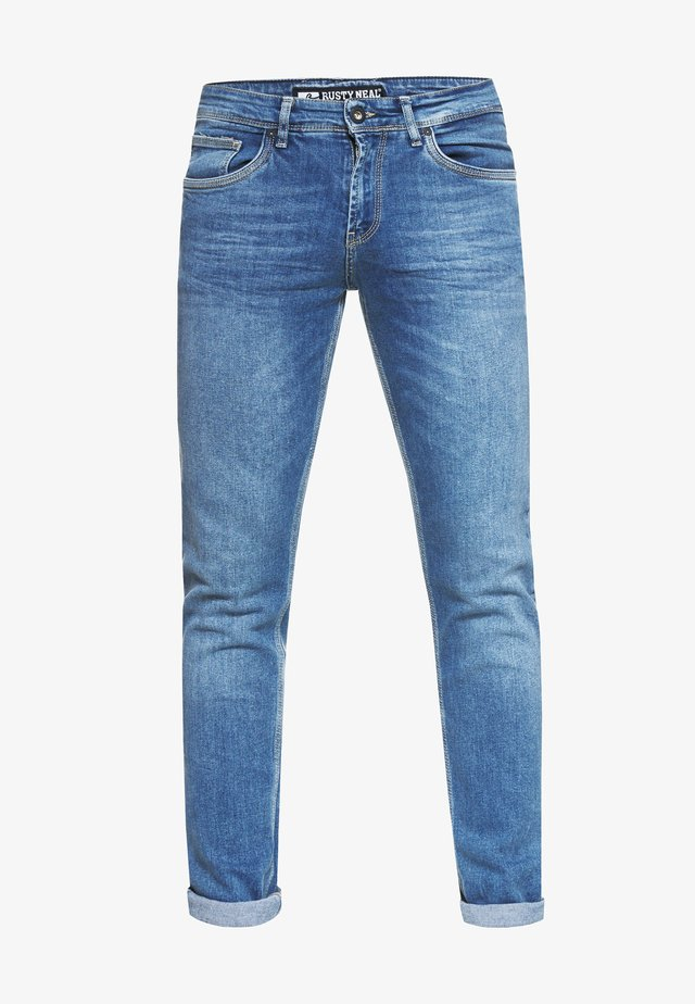 MELVIN - Slim fit jeans - blue used