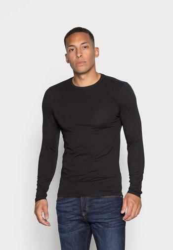 ONSBASIC SLIM TEE - Pitkähihainen paita - black