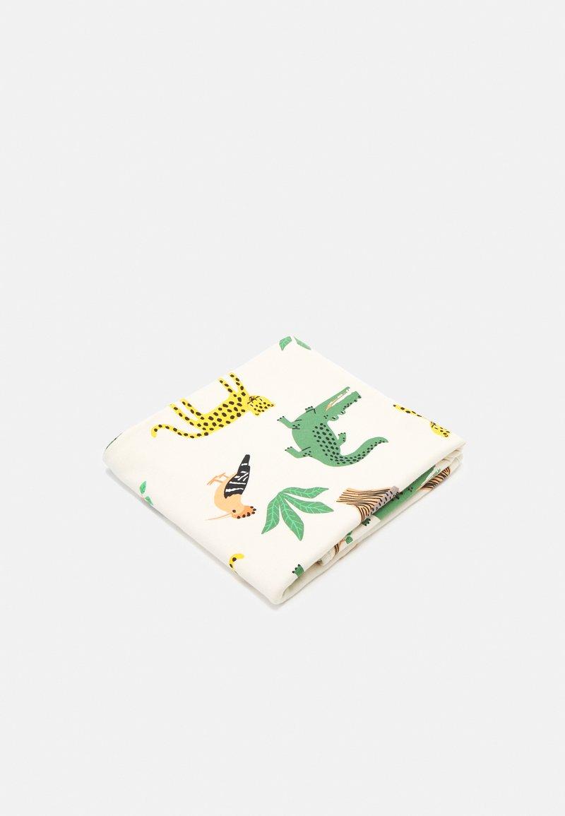 Lindex - SHAWL BLANKET ANIMAL - Boxkleed - light beige