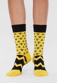 Natural Vibes - ANIMALS GIFT BOX ORGANIC COTTON SOCKS - Socks - green - 1