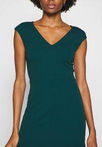 Anna Field - BASIC - V NECK MINI DRESS - Žerzejové šaty - turquoise - 6