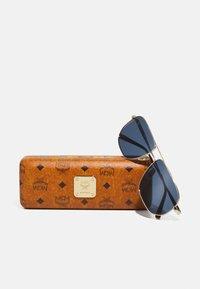 MCM - UNISEX - Sunglasses - shiny gold-coloured - 3