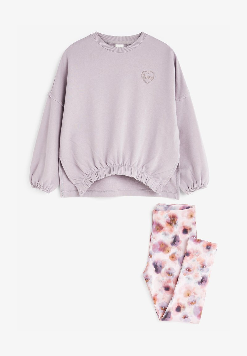 Next - SET  - Felpa - lilac