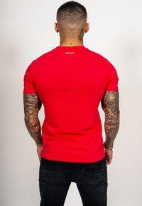 Ed Hardy - TIGER LOS T-SHIRT - Print T-shirt - red - 1